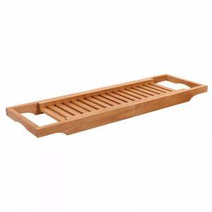Kado Arc Adjustable Bath Rack American Solid Oak | Reece