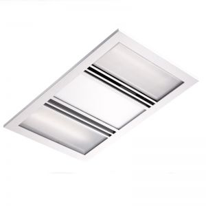 Kado Lux 3 in 1 Heat Lamp Exhaust White | Reece