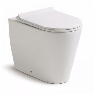 Kado Lux Back to Wall Overheight Pan | Reece