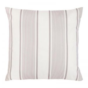 Kai Grey and White Outdoor Cushion | 50x50 cm | Insert Included | Fab Habitat