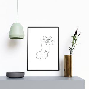 Kai | One Line Art Print | Jess Marney Design
