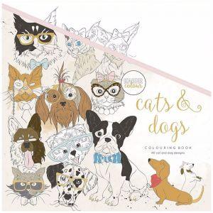 Kaisercolour Colouring Book | Cats & Dogs