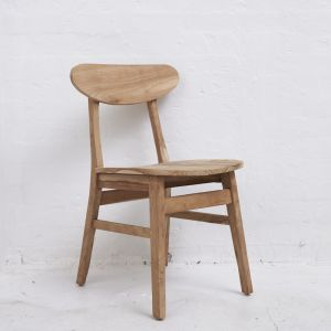 Kali Dining Chair Natural l Custom Made