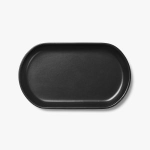 Kali Large Platter   Graphite by Aura Home