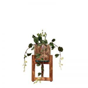 Kandi Lantern includes faux plant | by SATARA