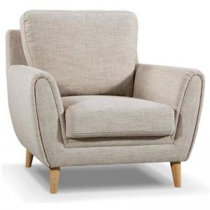 Kane Lounge Chair | Beige | Modern Furniture