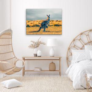 Kangaroo Paddock | Photographic Australian Country Canvas and Art Print