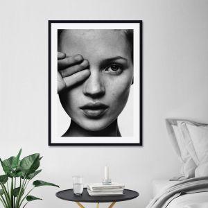 Kate Moss Portrait | Unframed Art Print