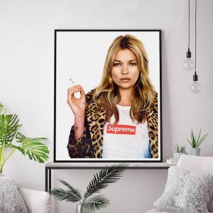 Kate Moss Supreme | Unframed Art Print
