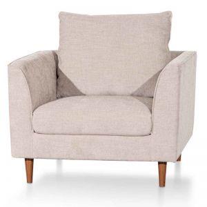 Kavan Fabric Armchair | Oyster Beige
