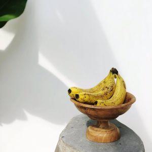 Kayu Teakwood Pedestal Bowl  | Pineapple Traders