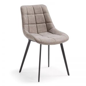 Keir Dining Chair | Taupe