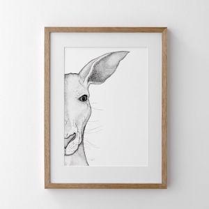 Ken the Kangaroo Print