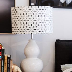 Kennedy Lamp Base | Bright White