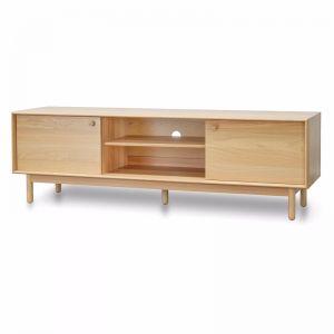 Kenston 1.8m Wooden TV Entertainment  Unit - Natural