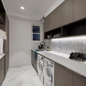 Kerrie and Spence | Laundry Build | Freedom Kitchens