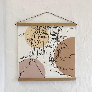 Kesha. Mid Print