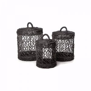 Ketba Basket | Set of 3| by SATARA