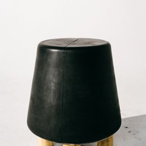 Kevin Concrete Stool by Nood Co | Charcoal
