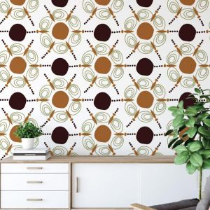 Kezia - African Dreams | Eco Wallpaper | Amba Florette