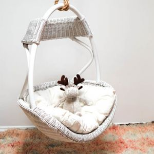 Kids Austin Hanging Chair | White
