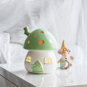 Kids Nightlight Mint and Gold