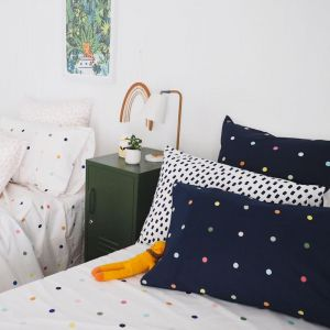 Kids | Spot & Dot | Fitted Sheet | More Than Ever