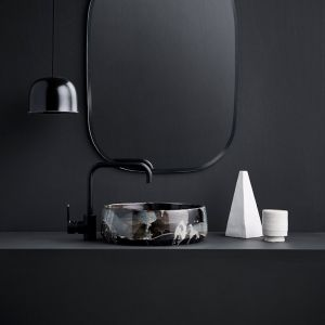 Kiln 360 Hand Basin by Robert Gordon Australia | Black Opal