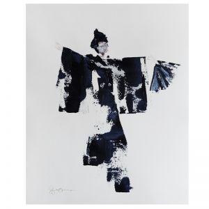 Kimono | Unframed Original Artwork | Katrina Okoronkwo