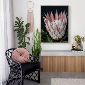 King of Flowers | Canvas Print
