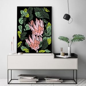 King Protea | Limited Edition Unframed Print | by Arti Shah