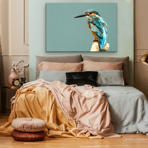 Kingfisher | Art Print & Hand Stretched Canvas