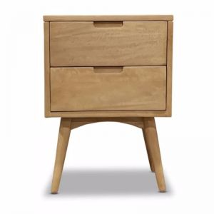 Kiruna 2 Drawer Nightstand | Bedside Table
