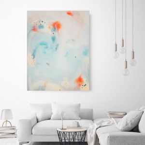 Kisses | Canvas Wall Art by Beach Lane