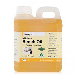 Kitchen Bench Oil Clear 1L