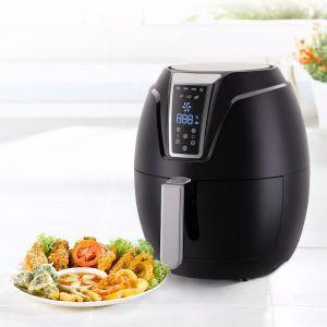 Kitchen Couture 4 Litre Digital Air Fryer | Black