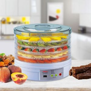 Kitchen Couture Deluxe Digital Food Dehydrator | Round