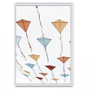 Kites Canvas Print | Framed