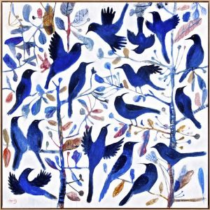 "Kitti Narod ""Bluebirds #2"" 