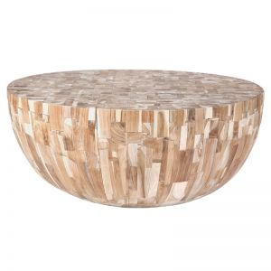 Klop Palm Cut Coffee Table by Uniqwa Collections