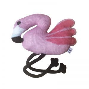 Knitted Flamingo Creature by Homely Creatures