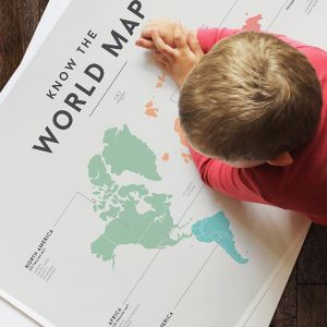Know the World Map