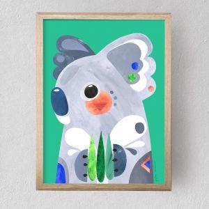 Koala | Fine Art Print | Unframed