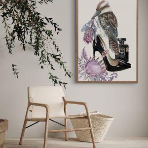 Kookaboutin | Louboutin Heels | Fashion Poster