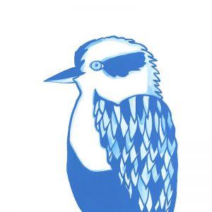 Kookaburra | Giclee Art Print | By Madeleine Stamer