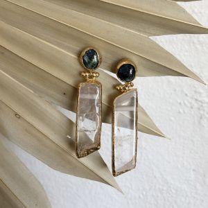 Kora Double Drop Earrings