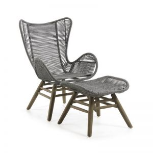 Kubic Patio Armchair | Grey | CLU Living