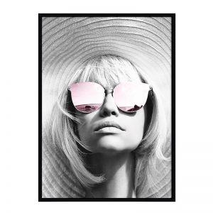 LA Class Portrait | Matte Black Frame | Front View