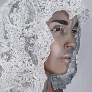 Lace 6 by Jeska Valk | Ltd. Edition Canvas Print | Art Lovers Australia