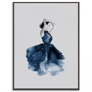 Lady in Blue | Renee Tohl | Canvas or Prints by Artist Lane